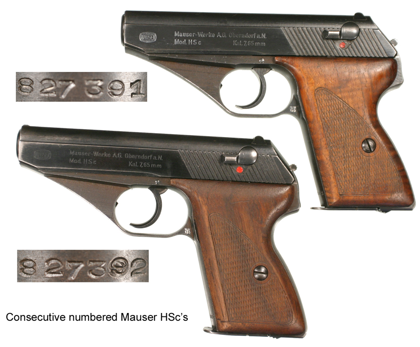 Mauser Hsc Serial Numbers Related Keywords & Suggestions - Mauser